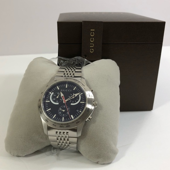2ef959f09e0 Authentic Gucci Silver Stainless-Steel Watch